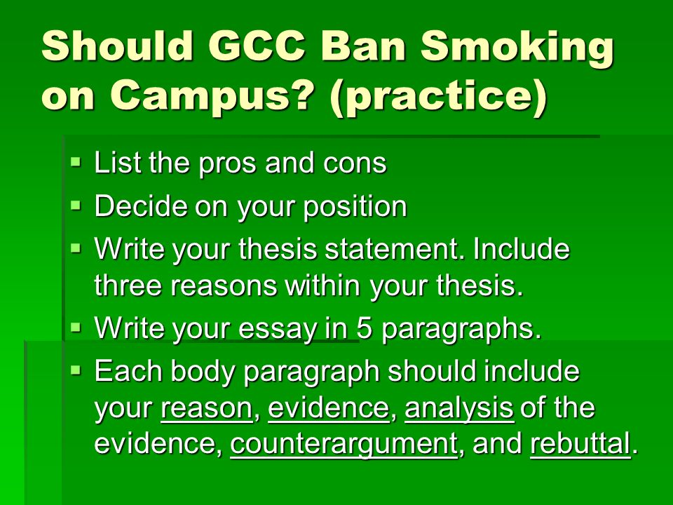 controversial issues illegal immigration  should illegal  should gcc ban smoking on campus