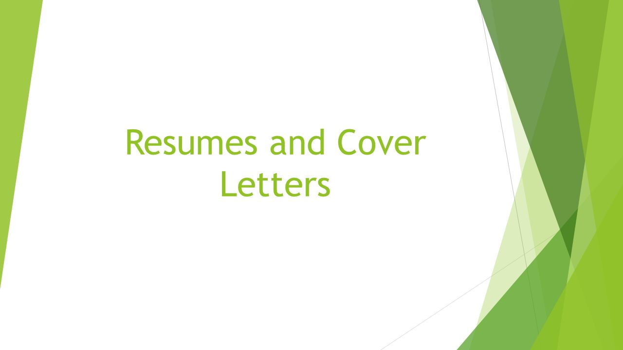 Resumes And Cover Letters If You Have Little Or No Work