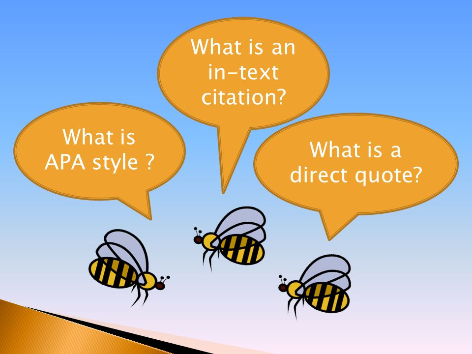 In text quotes apa