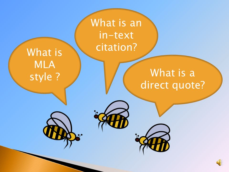 What is in text citation?