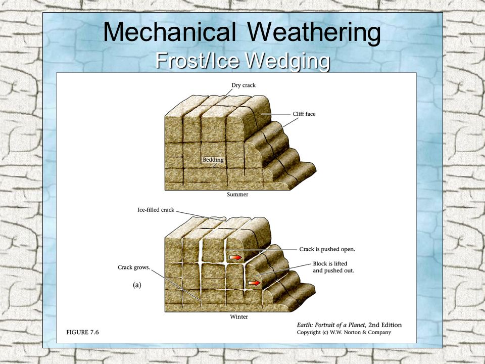 Weathering Mechanical Weathering Chemical Weathering Biological ...