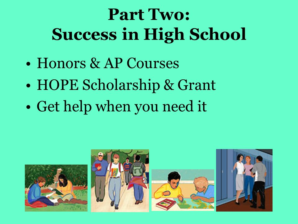High School? Honors Classes? Help!?