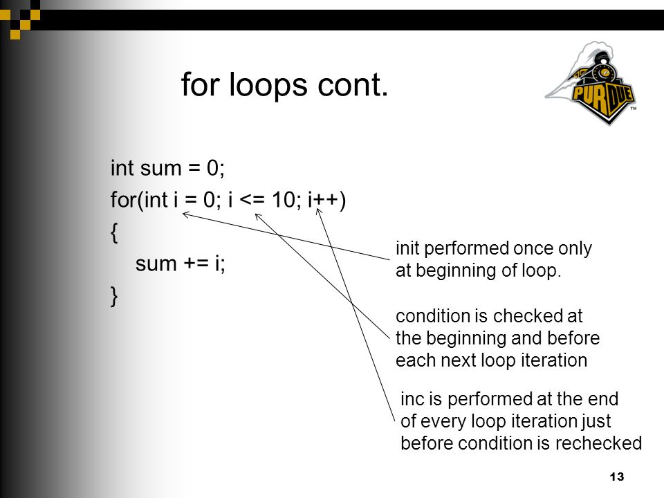 for loops cont.