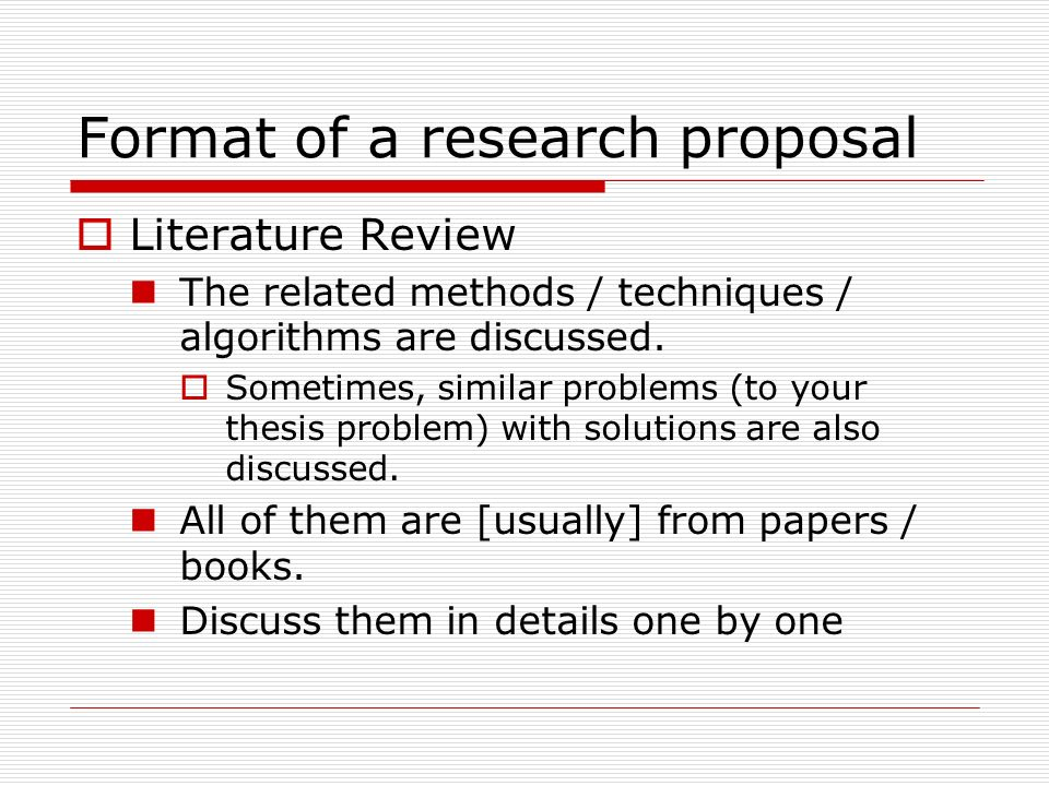 Review of related literature in research