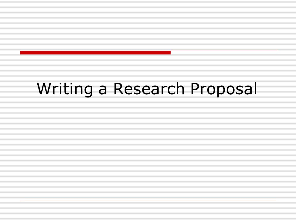 How To Prepare A Dissertation Proposal