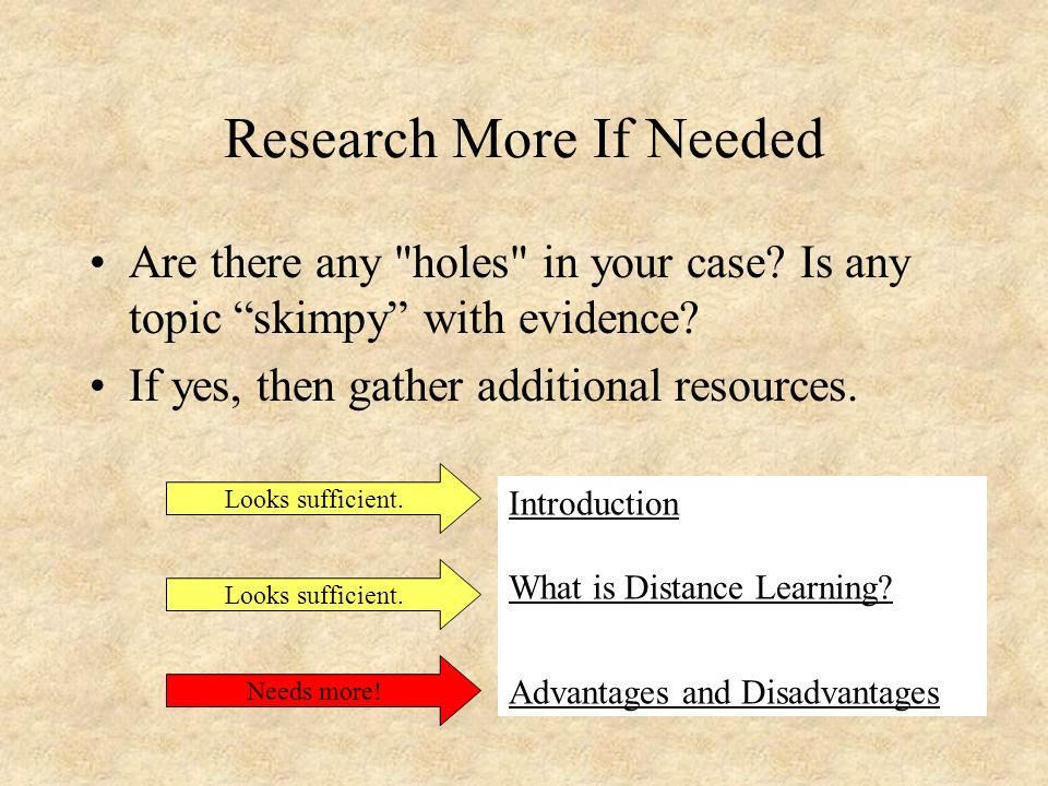 learning from a distance essay Free essay on distance learning available totally free at echeatcom, the largest free essay community.