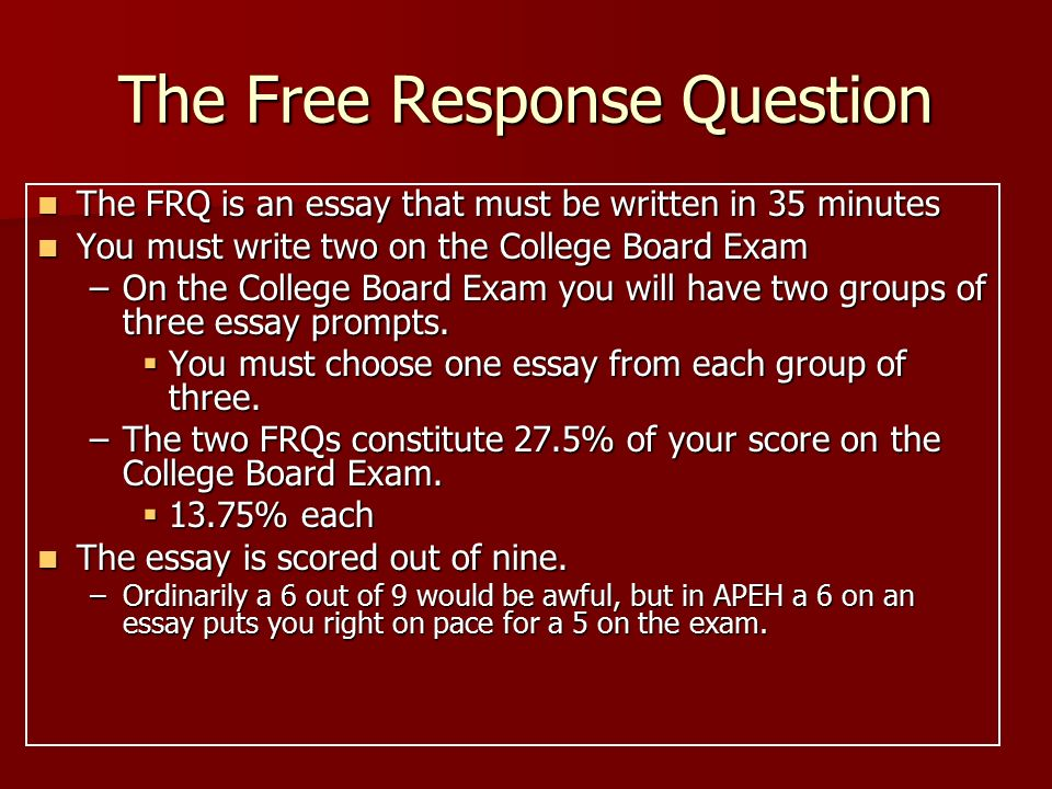 European history free response essay help?