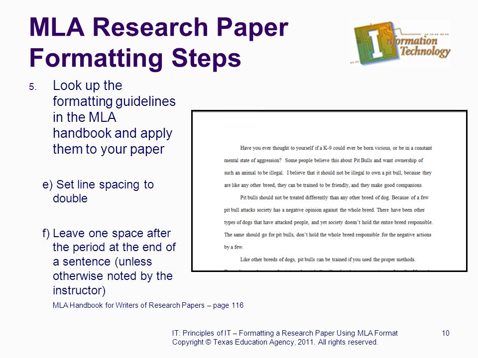 essays and mla format Mla format for essays and research papers using microsoft word 2003 click here if you use word 2007 introduction the modern language association (mla) specifies a standard format for essays and research papers written in an academic setting:.