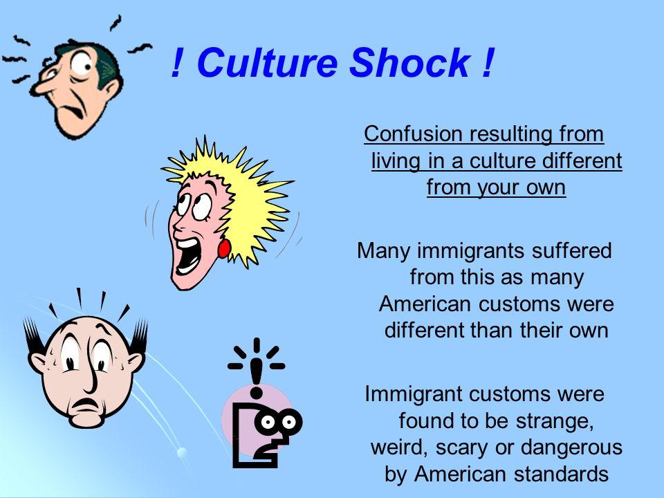 Strange american customs