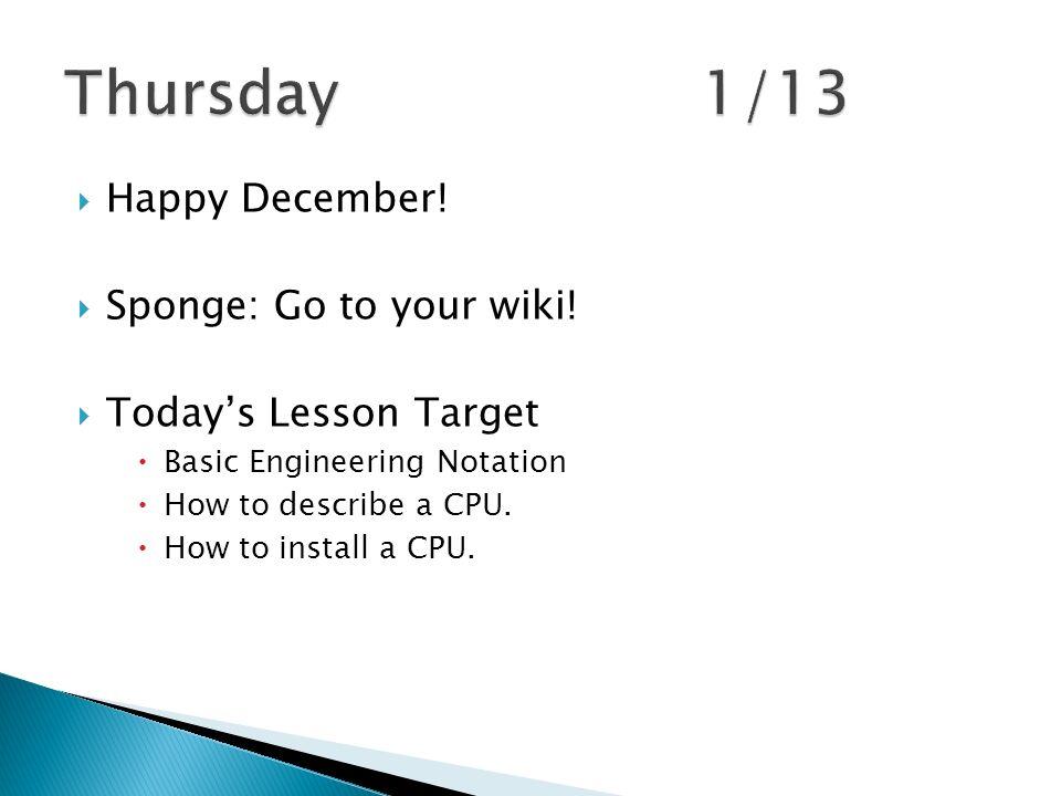 Happy december sponge go to your wiki todays lesson sponge go to your wiki ccuart Image collections