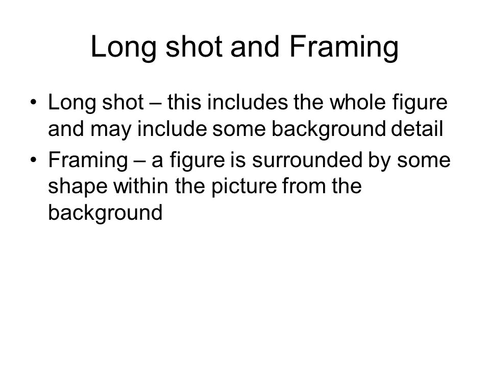 Film terms Look and learn Examples and definitions followed by a ...