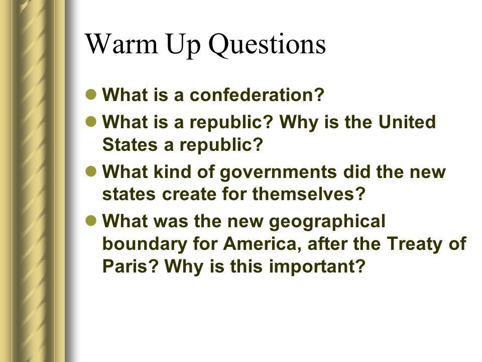 Articles of conferdeation question!! =/?