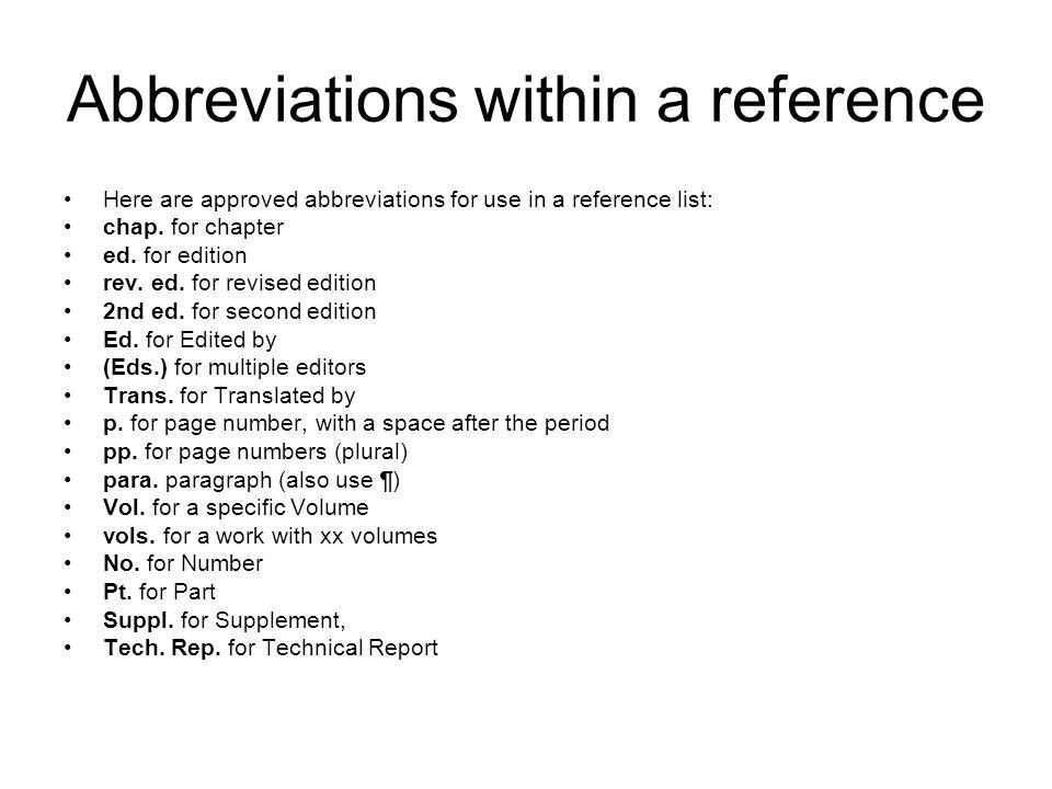 Essay revision symbols