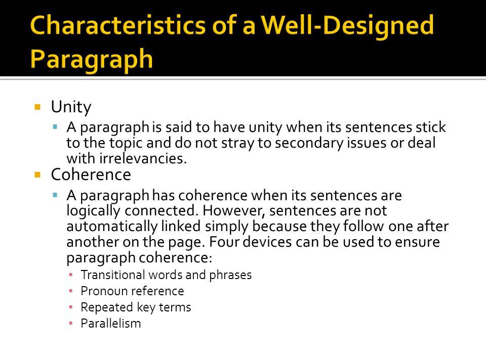 well designed essay