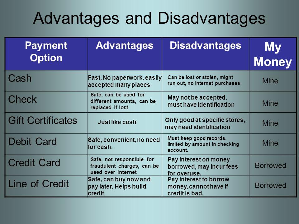 4 Advantages