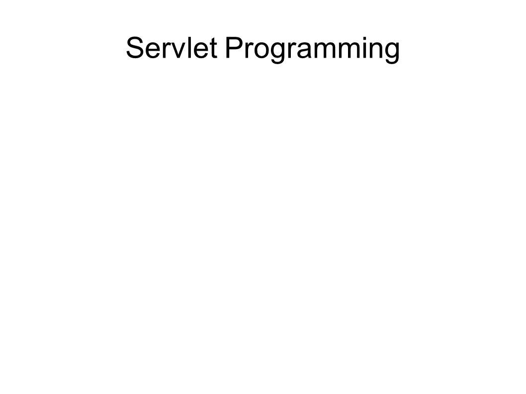 Servlet programming scope of objects enables sharing information 1 servlet programming baditri Gallery