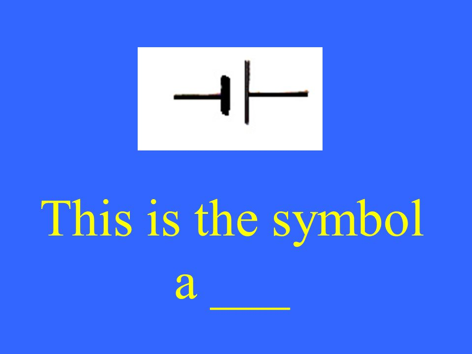 This is the symbol a ___