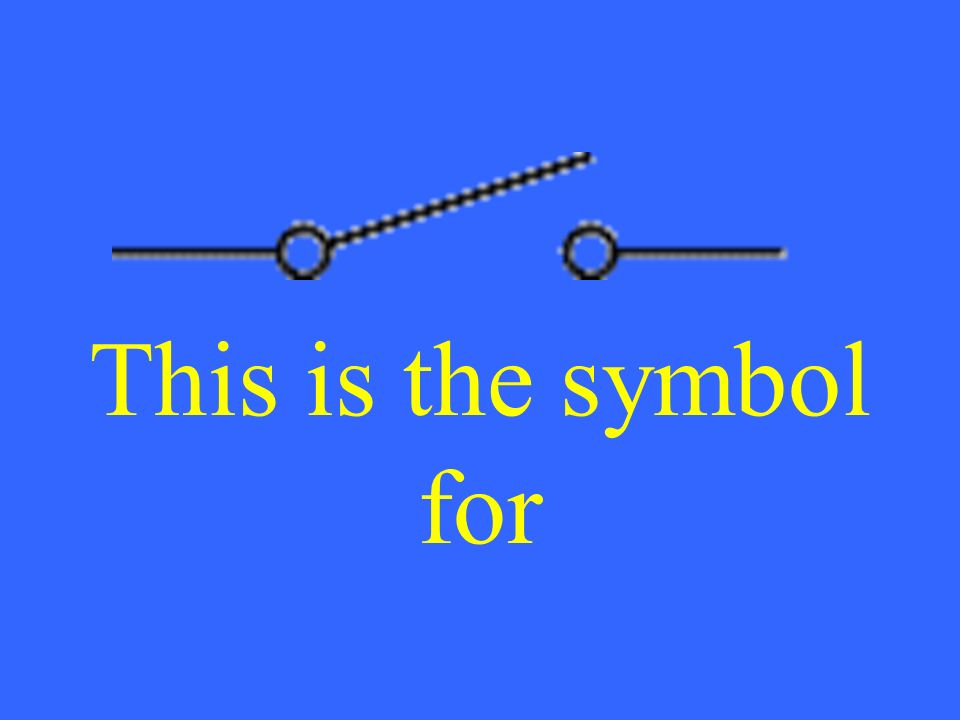 This is the symbol for