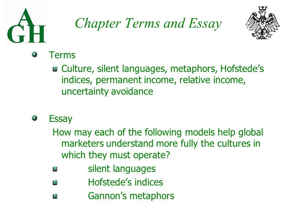 chapter 3 a culture full mutt essay