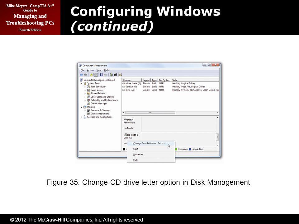 change cd drive letter