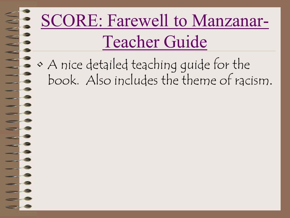 I need a bit of help on an essay on a motif in 'Farewell to Manzanar'?