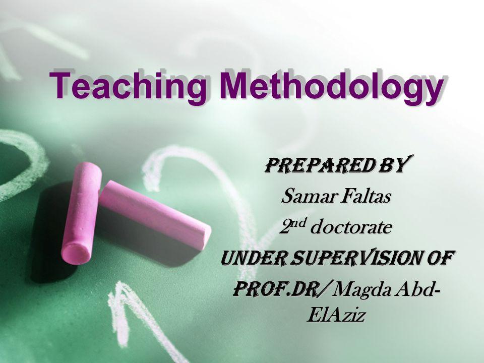 Doctorate in teaching