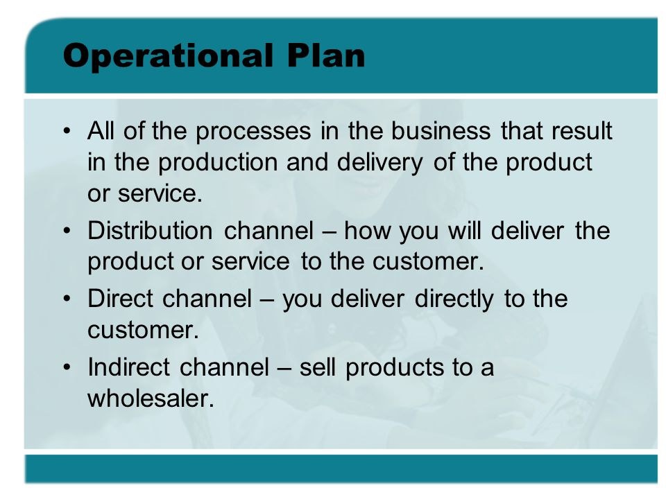 Distribution delivery business plan