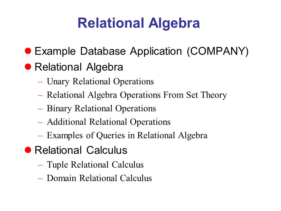 Relational algebra example database application company 1 relational algebra example thecheapjerseys Choice Image