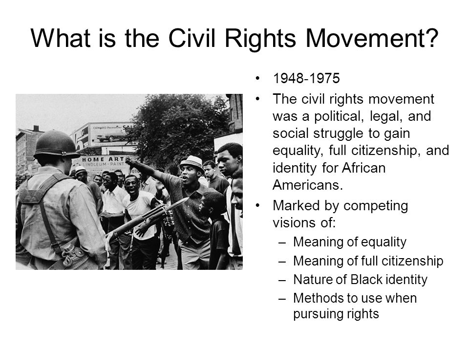 why did the civil rights movement fall apart M2_a1_discussion_civil rights movement in the 1960's the civil rights movement in the 1960s was volatile but fell apart in the late 1960a and early 1970s do you think the movement was a success why or why not yes, this movement was successful in that it gave women and those of different color the right to enter any establishment as.