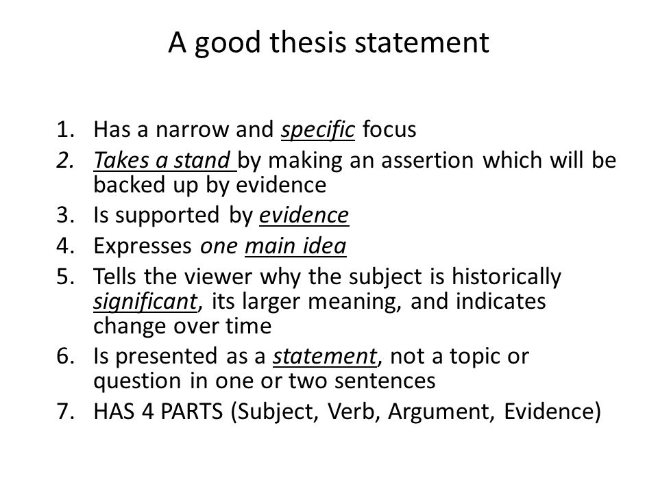best thesis statement Сreating your own strong thesis statements has never been so fast and simple try our thesis statement generator for free without registration.