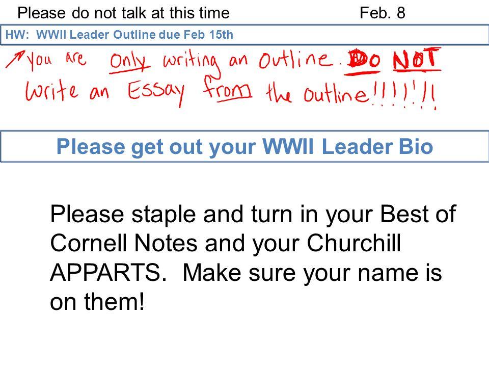 world war ii leadership essay
