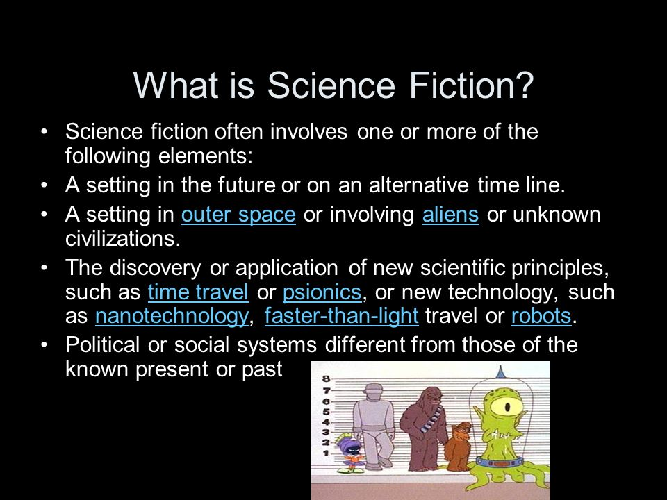 Science Fiction: The Literature of Ideas - Writing