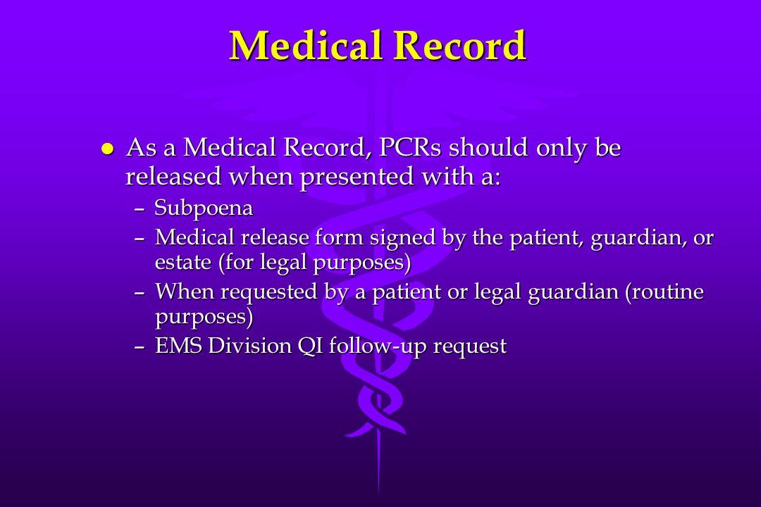 Pre-Hospital Care Reports A Quality Improvement Program Karl W ...