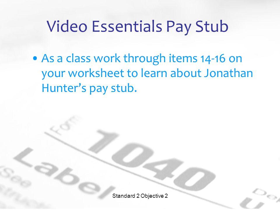 work pay stubs