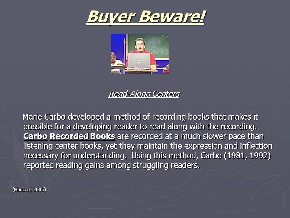 Buyer Beware.