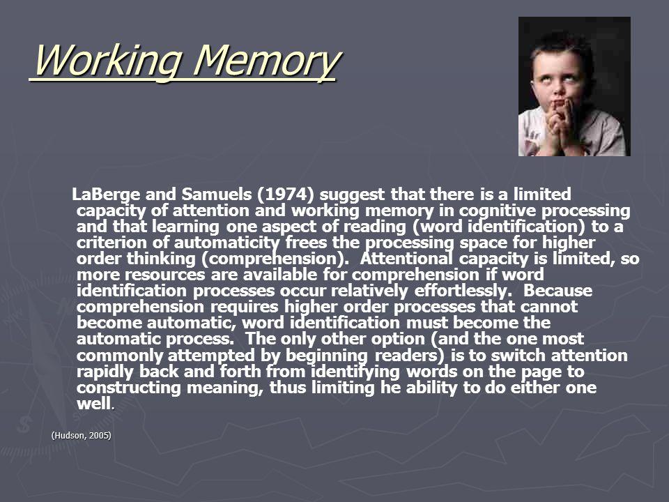 Working Memory.