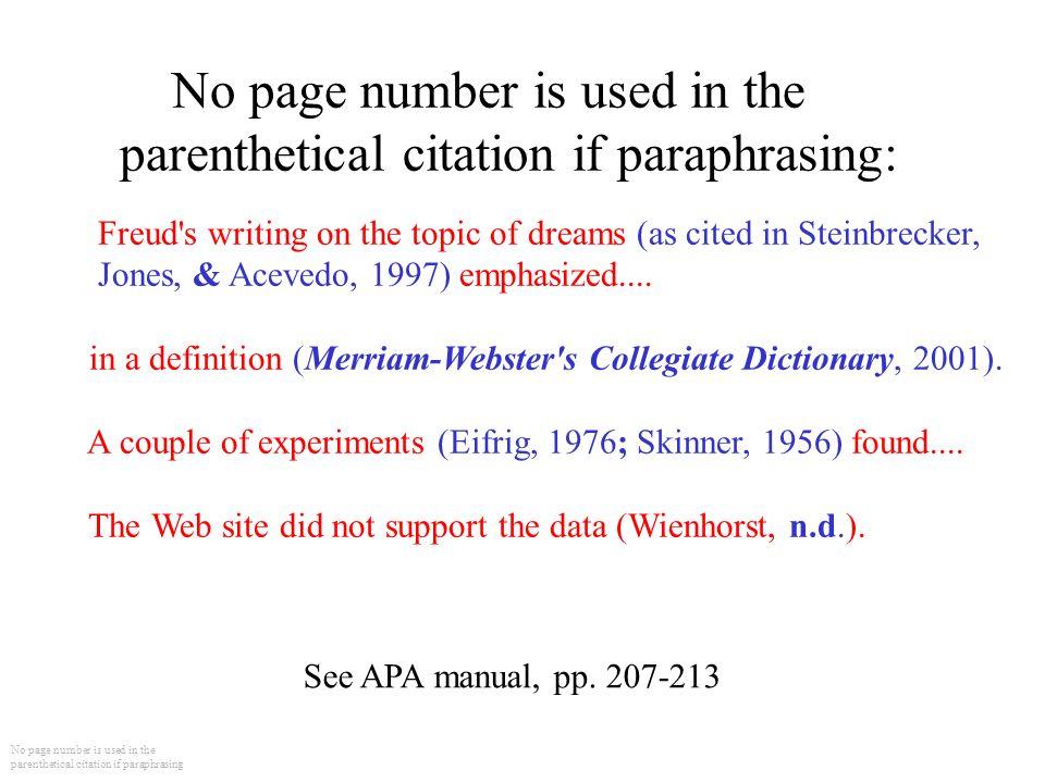 Paraphrasing A Paragraph HELP!! ASAP!!?