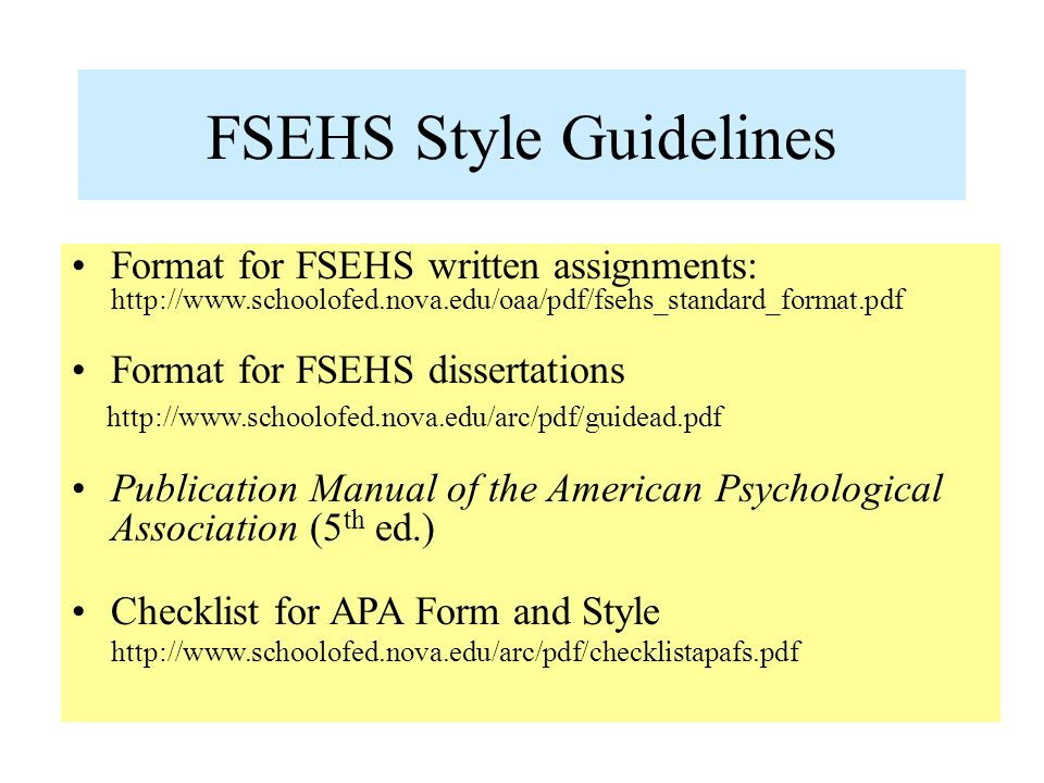 apa style references for dissertation Soe guidelines for apa style for papers, theses and dissertations or dissertation should differ from the style or use apa style for references.