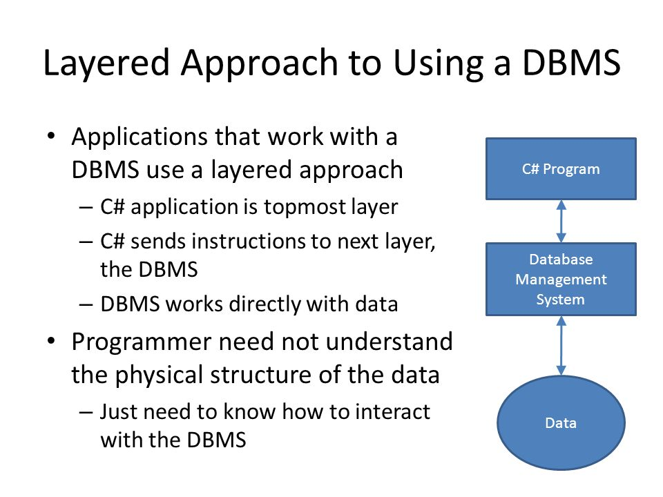 Introduction to Database Systems Microsoft Access, OleDB. - ppt download