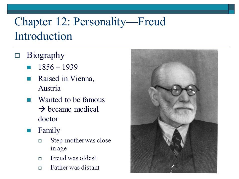 The Personality Theorist Sigmund Freud Was An Austrian