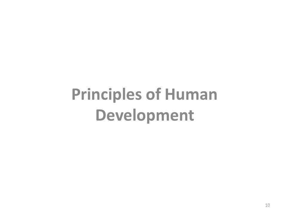 Principles of Human Development 10