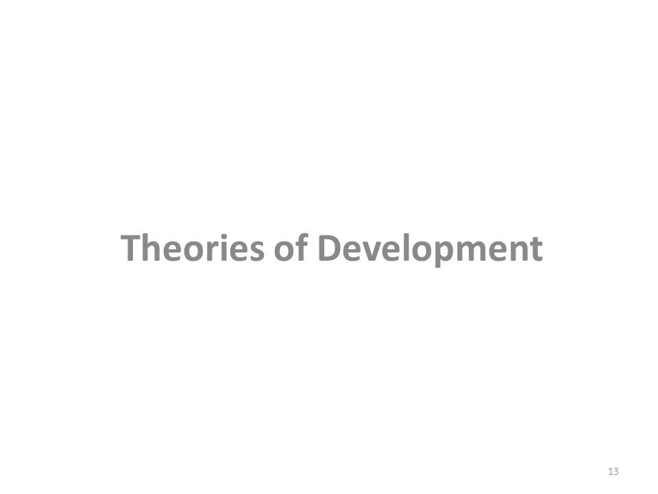 Theories of Development 13