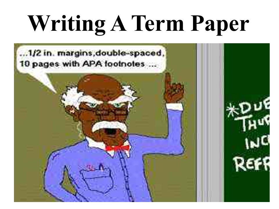 Academic term paper
