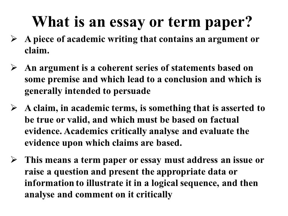 What Is Good Academic Essay Writing