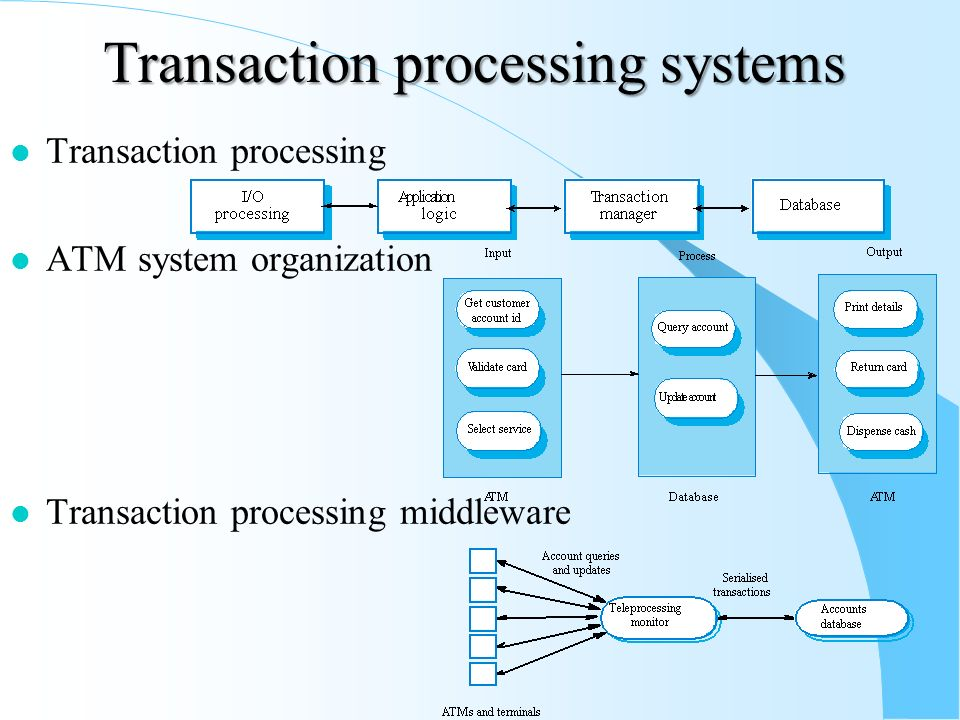 a description of the central processing