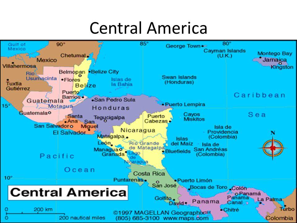 Central America 7 countries Guatemala Belize Honduras El