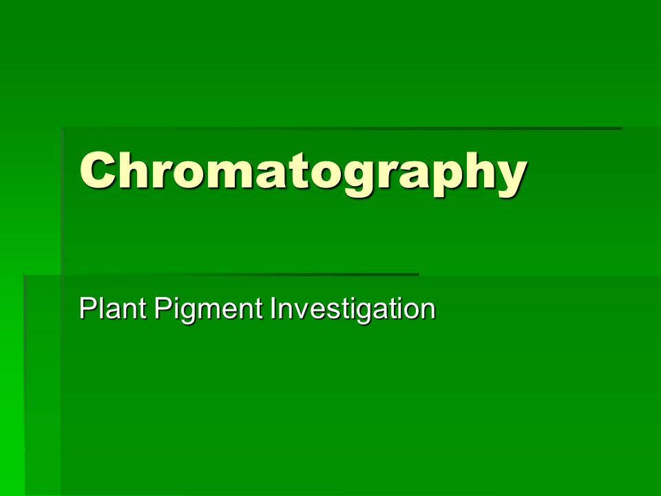 plant pigment chromatography lab conclusion Biology:(chromatography(of(pigments(((for$technical$assistance$please$contact$a$scientist$at$caltechat$juicefromjuice@caltechedu$ high$school$lesson$plan.