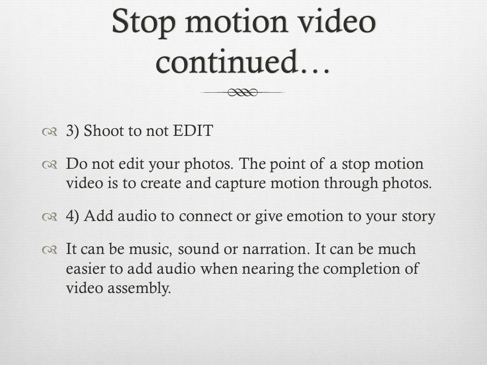 3 Stop ...