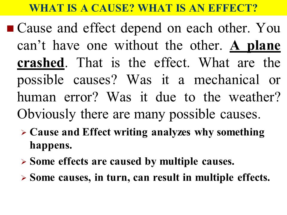cause and effect essay weather