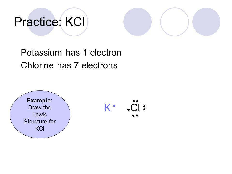 Lewis Dot Diagram Of Potassium 95115 | IMGFLASH